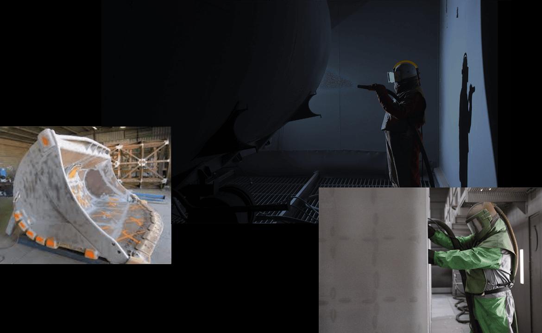 Sentinel Blast & Paint